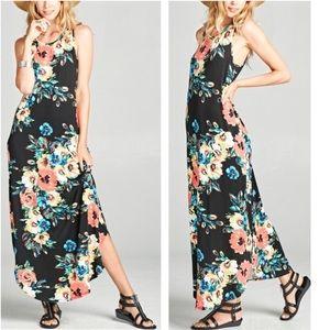 New! Floral Maxi Dress
